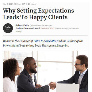 Setting Expectations Leads to Happy Clients