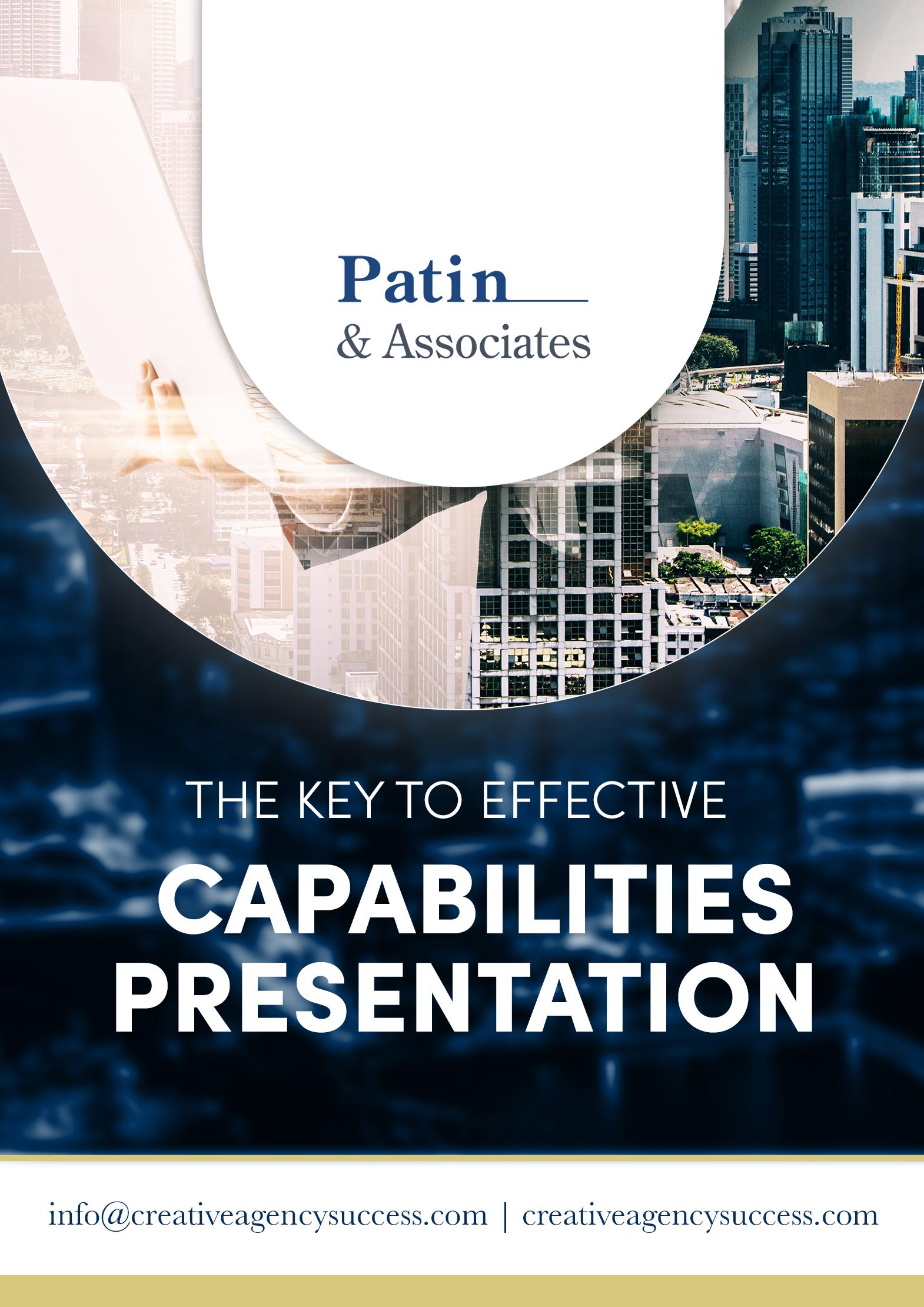 The key to effective capabilities presentation